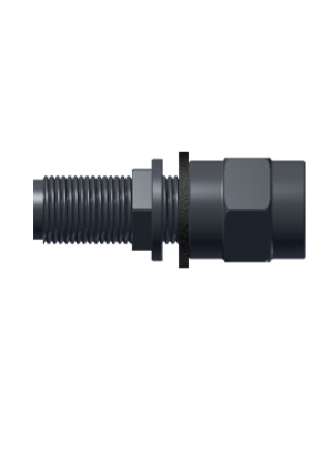 "Connector female/male 1/2"" BSP 45mm long"